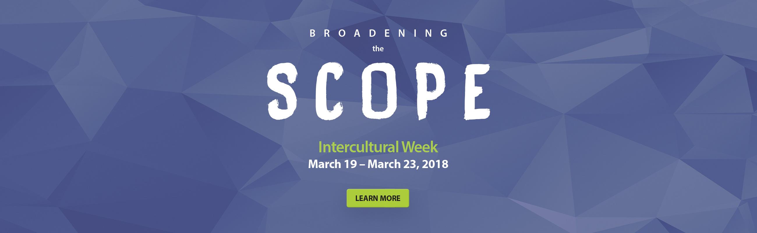 Intercultural Week 2018