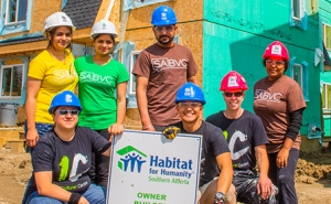 Hundreds of Hands - Habitat for Humanity