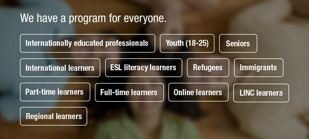 English Language Learning Programs