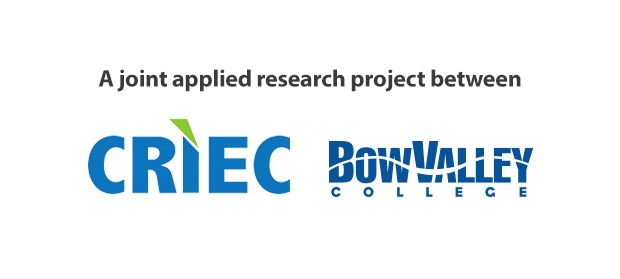 A joint applied research project between CRIEC and Bow Valley College