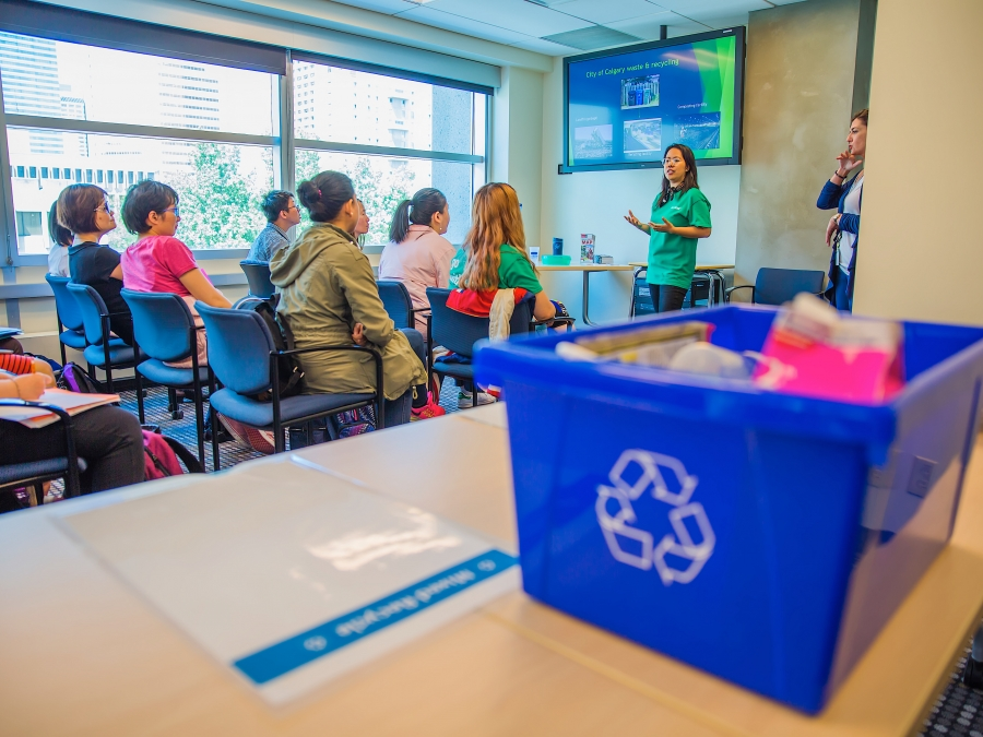 Learner Insights: Recycling and Sustainability at Bow Valley College