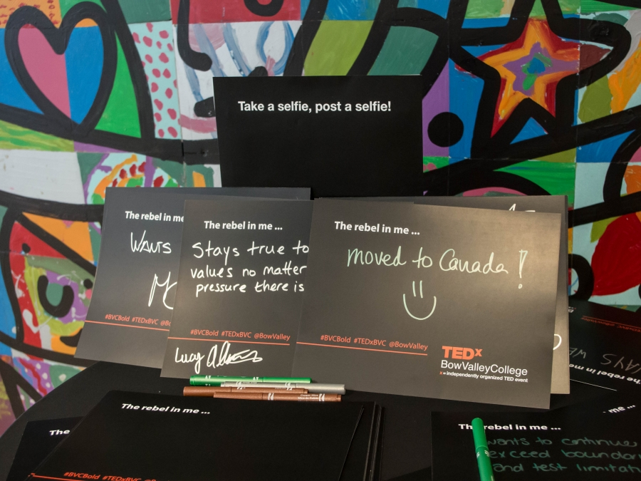 TEDx Bow Valley College 2016