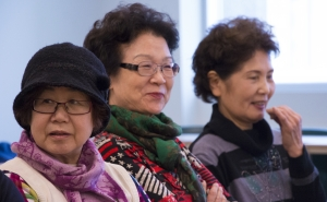 Sharing our research: recent presentations about immigrant women retirees