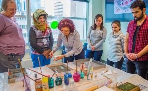 Communal Table: Turkish Marbling Art