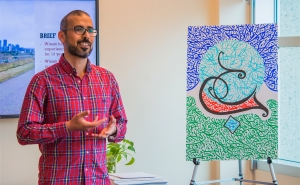 Communal Table and Teach your Talent:  Calligraphy