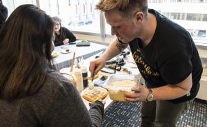 Communal Table:  Waffles in Winter