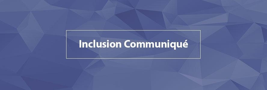Inclusion Communiqué: Privilege